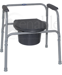 Invacare® I·Class™ All-In-One Commode with 350 lb Capacity