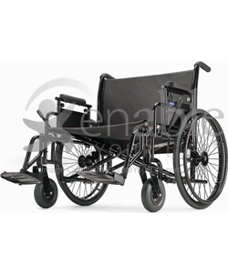 Invacare® 9000 Topaz® Super Heavy Duty Wheelchair - Angled View Shown