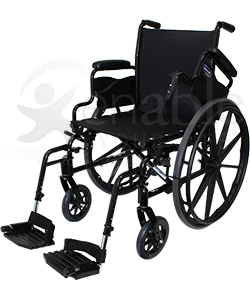 Invacare® 9000 SL Lightweight Wheelchair - Angled view shown