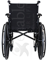 Invacare® 9000 SL Lightweight Wheelchair - Back view shown