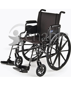 Invacare® 9000 XT Custom Lightweight Wheelchair - angled view shown