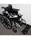 Invacare® Insignia® Lightweight Wheelchair - Angled view shown