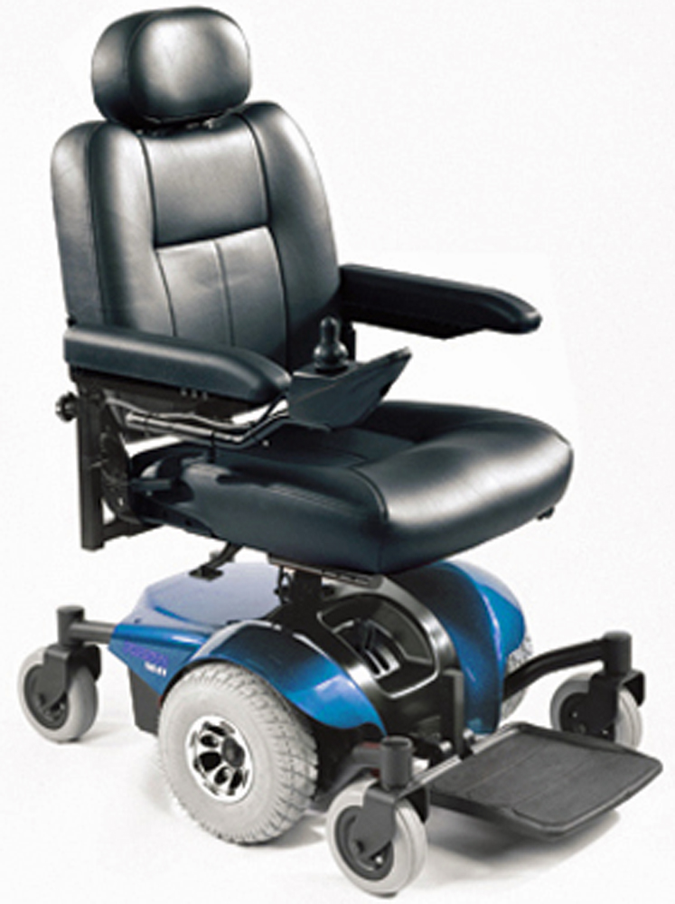 Invacare 174 Pronto 174 M41 Power Wheelchair With Office Style Seat