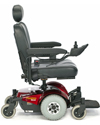 Invacare® Pronto® M41™ Power Wheelchair with Office Style Seat - Side view shown