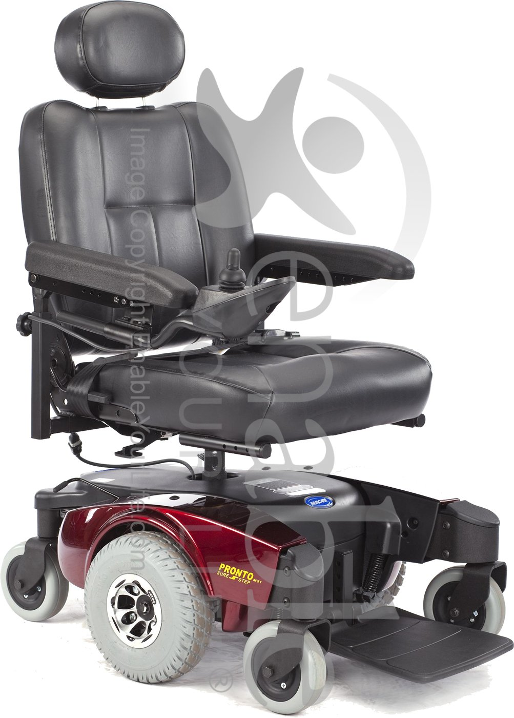 Invacare 174 Pronto 174 M51 Power Wheelchair With Office Style Seat