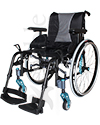 Invacare MyOn HC Ultra-Lightweight High Performance Folding Wheelchair