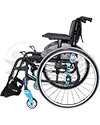 Invacare MyOn HC Ultra-Lightweight High Performance Folding Wheelchair - Side view shown