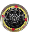 3 x 1 in. Invacare Anti-Tip Wheel Assembly for the Storm Series 3G - Front view shown