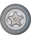 14 x 3 in (3.00-8) Invacare Drive Wheel for TDX, Arrow, Pronto, Storm Series, Others - Back view shown