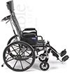 Invacare® Tracer SX5® Recliner Wheelchair - Side view shown