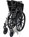 Invacare® Tracer IV® Heavy Duty Bariatric Wheelchair - Folded view shown