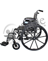 Invacare® Tracer IV® Heavy Duty Bariatric Wheelchair - Side view shown