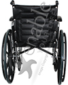 Invacare® Tracer EX2® Deluxe Wheelchair - Back view shown