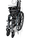 Invacare® Tracer SX5® Deluxe Wheelchair - Folded view shown