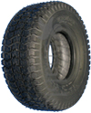 9 x 3.50-4 Kenda K372 Turf Wheelchair / Scooter Tire - Black