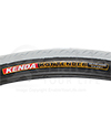 24 x 1 in. (25-540) Kenda Kontender Sports Wheelchair Tire - Close-up view of sidewall