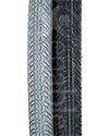 24 x 1 in. (25-540) Kenda Kwick Trax Wheelchair Tire w/Iron Cap - tread pattern close-up