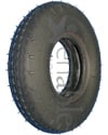 280 x 250-4 Kenda K276 Sawtooth Wheelchair / Scooter Tire - Black