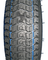 14 x 3 in. (3.00-8) Kenda K372 Turf Wheelchair Tire - Close-up of tread pattern