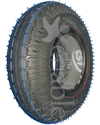 280 x 250-4 Kenda K469 Traction Wheelchair / Scooter Tire - Black