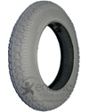 tire Pneumatic, 10x3 260x85 3.00-4 , Lt Grey, items in electric
