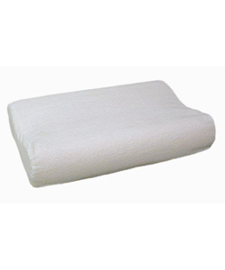 Mabis DMI Radial Cut Memory Foam Pillow