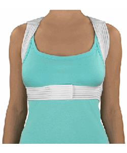 Mabis DMI Posture Corrector - Front View