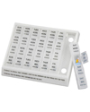 Mabis DMI Large Weekly Medication Planner Pill Holder
