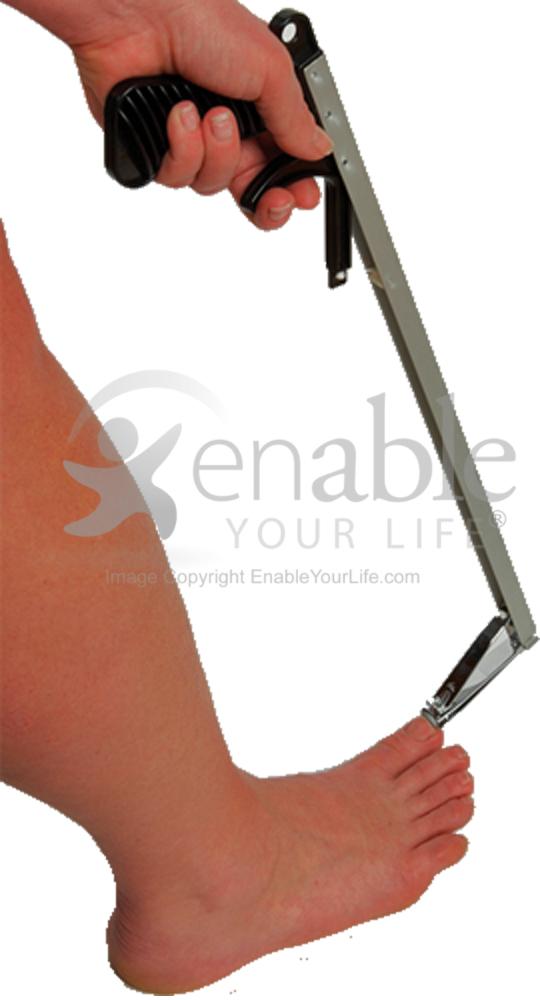 Maddak Pistol Grip Extra Long Remote Toe Nail Clipper