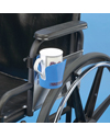 Maddak Wheelchair Cup Holder - shown mounted on wheelchair