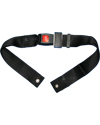 Wheelchair Seat Belt with Auto Style Push Button Buckle