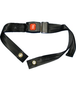 Wheelchair Seat Belt - Pediatric Size with Auto Style Buckle