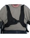 Wheelchair Butterfly Chest Harness - With User