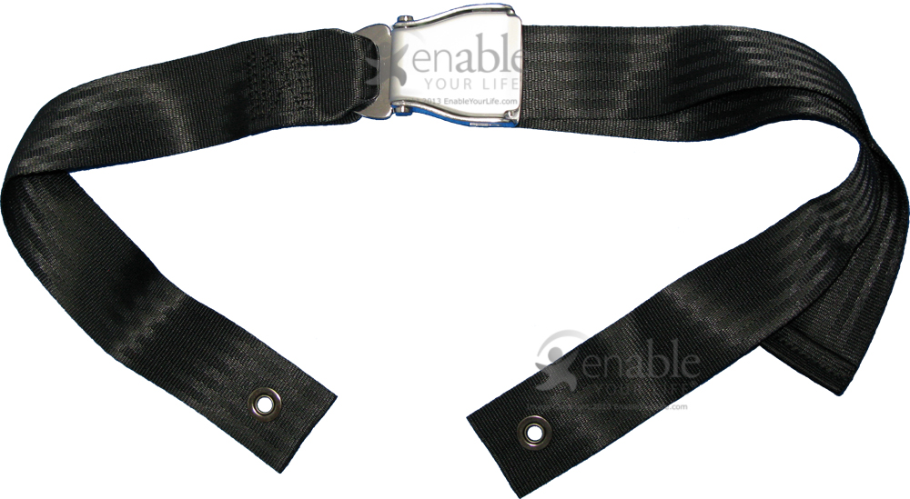 Wheelchair Seat Belt With Airline Buckle