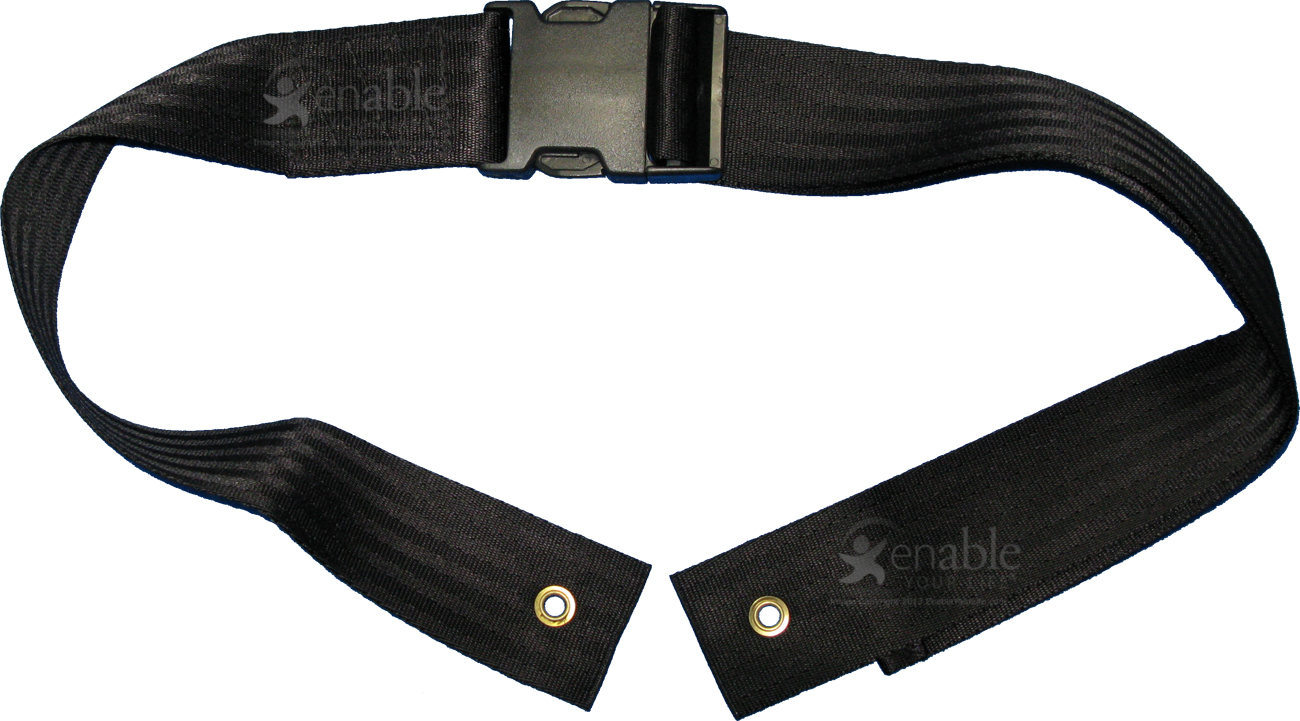 Wheelchair Seat Belt With Pinch Buckle Closure