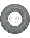 8 x 2 in. (200 x 50) Primo Spirit Heavy Duty Foam Filled Tire - Side view shown