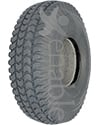 10 x 3 in. (3.00-4) Primo Powertrax Heavy Duty Foam Filled Tire