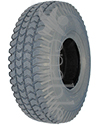 10 x 3 in. (3.00-4) Primo Power Trax Foam Filled Wheelchair/Scooter Tire