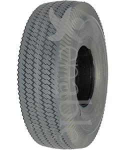 4.10 x 3.50-4 Sawtooth Foam Filled Wheelchair / Scooter Tire