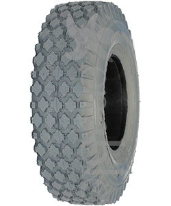 4.10 x 3.50-5 Foam Filled Knobby Wheelchair / Scooter Tire