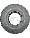 4.10 x 3.50-5 Foam Filled Knobby Wheelchair / Scooter Tire - Side view shown