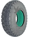 4.00-6 Knobby Foam Filled Wheelchair Tire