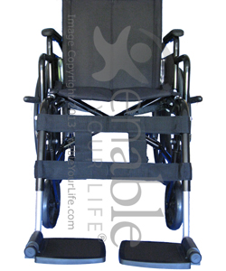 Wheelchair H Pattern Leg Strap with Velcro