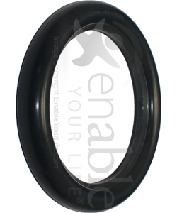 8 x 1 1/4 in. Solid Urethane Wheelchair Inner Tube Insert