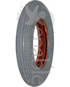 6 x 1 1/4 in. Multi Rib Wheelchair Tire