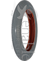 8 x 1 1/4 in. Multi Rib Wheelchair Tire