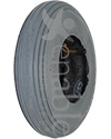8 x 2 in. (200 x 50) Primo Spirit Wheelchair / Scooter Tire - Shown in non marking gray