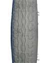 12 1/2 x 2 1/4 in. (57-203) Wheelchair Street Tire - Tread pattern close-up