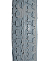 12 1/2 x 2 1/4 in. (62-203) Primo Power Express Foam Filled Tire - Close up of tread pattern shown