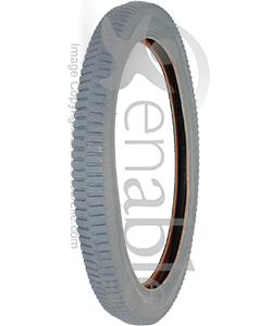 20 x 2.125 in. (57-406) Wheelchair Lug Tire